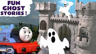 Thomas and Friends Spooky Ghost Stories with Play Doh and funny Funlings for kids and children TT4U