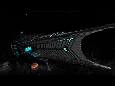 Starmade Ship Review : Void Destructer (EXTDONE)