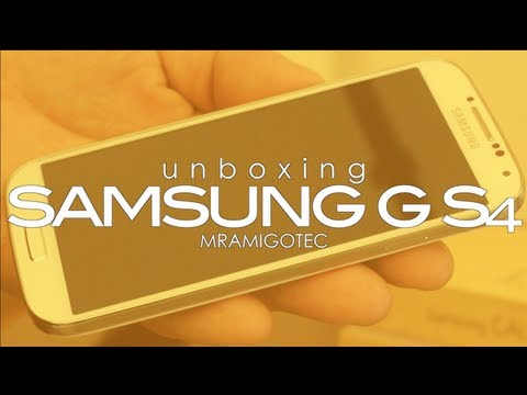 Unboxing | Samsung Galaxy S4 !!! #MrAmigoTec
