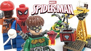 LEGO Spider-Man Doc Ock Diamond Heist review! 2019 set 76134!