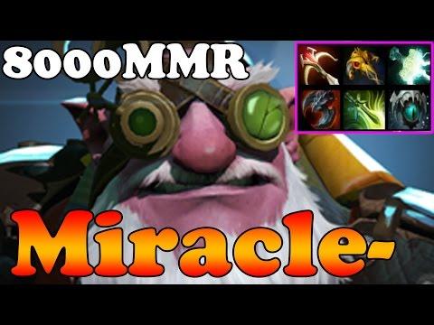 Dota 2 - Miracle 8000MMR Plays Sniper vol 2 - Pub Match Gameplay