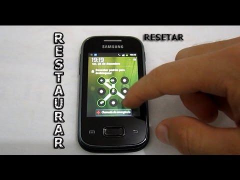 Dica - Como Tirar o Padrão de Desbloqueio no Galaxy Y. Pocket. Ace (Resetar - Formatar)