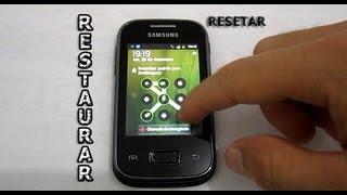 Samsung Galaxy Y, Pocket, Ace - Como Tirar o Padrão de Desbloqueio [Resetar - Formatar]