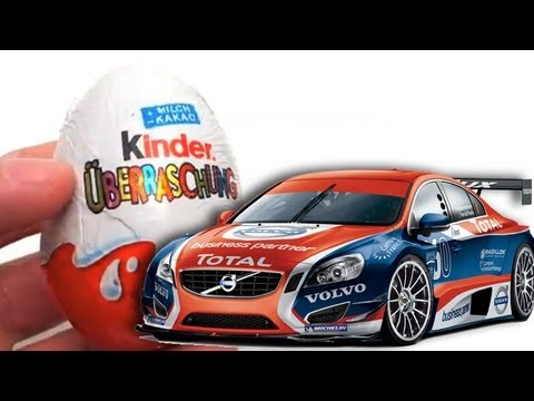 Car kinder surprise eggs unboxing easter eggs toy gift for Coche huevo