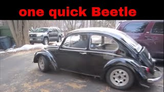 200+ hp vw bug, lets go for a ride.