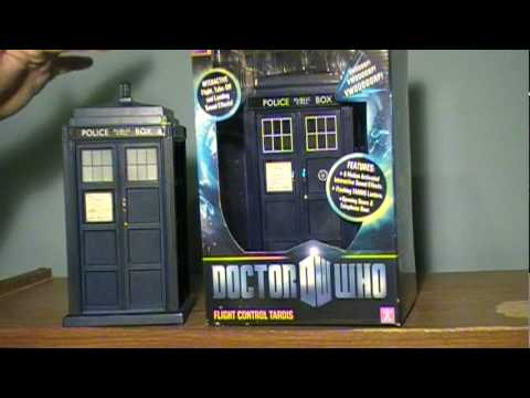 Doctor Who: Old and New Flight Control TARDIS Reviews/Comparisons