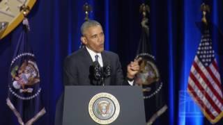 Obama on Joe Biden | Obama gives farewell speech