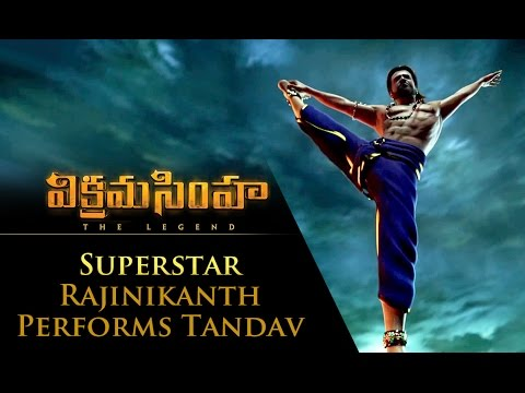 Superstar Rajinikanth Performs Tandav - Vikramasimha - The Legend