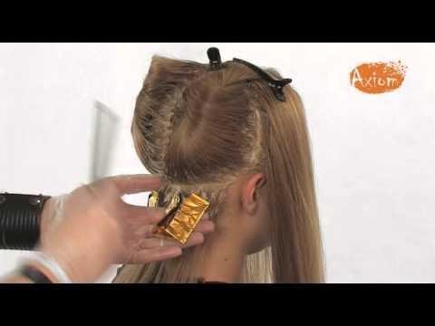 Мастер класс покраска волос