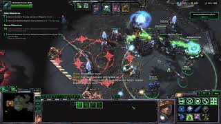 StarCraft 2 Co-op: Tychus Level 14