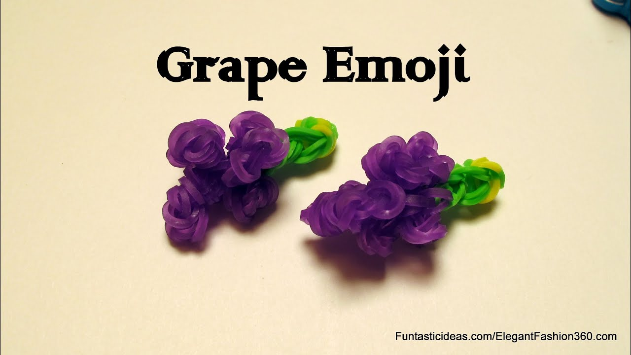 Grapes Fruit or Vegetable Rainbow Loom Grapes Fruit