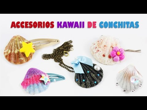 C�mo hacer accesorios kawaii con conchitas de mar