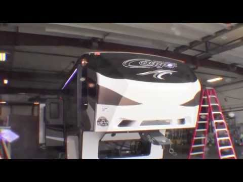 2014 Keystone Cougar 327RES Fifth Wheel with High Country Package!