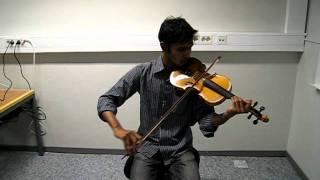 Amar vanga ghore-Srabon Megher din-Paul(violin)