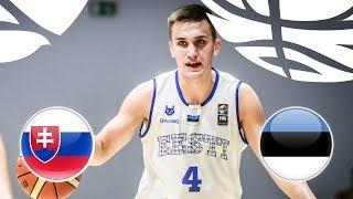 Словакия до 20 : Эстония до 20