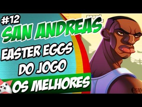 GTA San Andreas Os Melhores Easter Eggs do Jogo PARTE 12 + EXTRAS