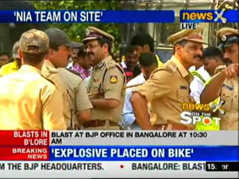 Bangalore blast: Police hunt for the trigger device