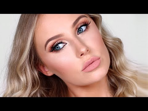 My HOLY GRAIL Flawless Full Glam Makeup Look | Lauren Curtis