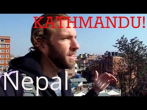 Exploring Kathmandu, Nepal in the Himalayas