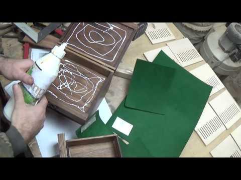 Как сделать шкатулку из неприлично дорогого дерева)))-DIY The box is made of walnut