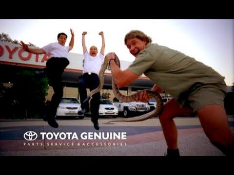 Steve Irwin Toyota Tv Commercial 2004 Youtube