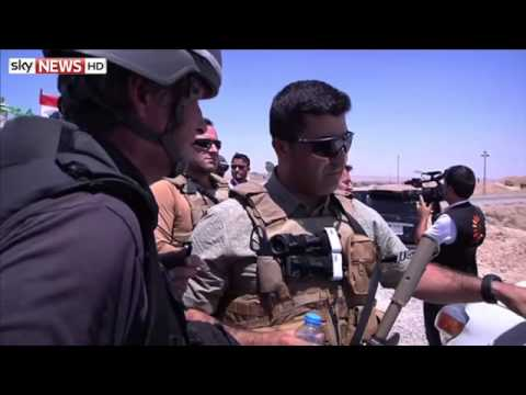 Kurdish Peshmergas Lead Fightback Against ISIS In Iraq
