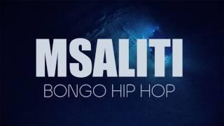 MSALITI - BONGO HIPHOP INSTRUMENTAL