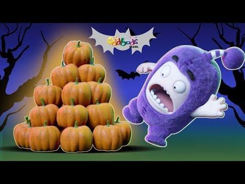 Oddbods | Caça a Abóbora | Desenhos Animados de Halloween