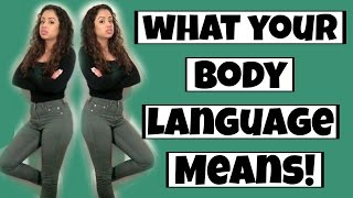 WHAT YOUR BODY LANGUAGE MEANS!! | Lizzza