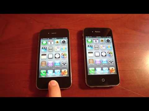 How to tell the Difference between the iPhone 4S and iPhone 4 CDMA (Verizon)!