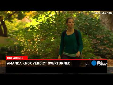Amanda Knox on verdict: 'I am tremendously relieved'