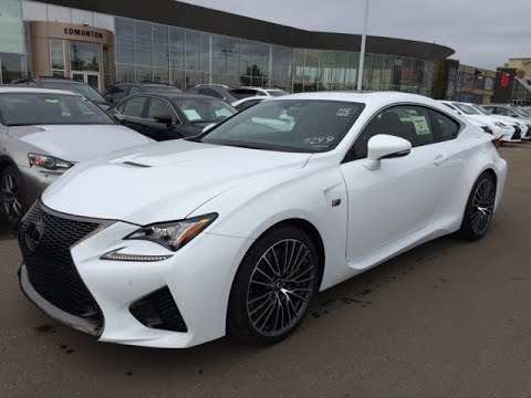 New 2015 Lexus RC F Review