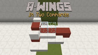 Minecraft - A-Wings [Two Commands]