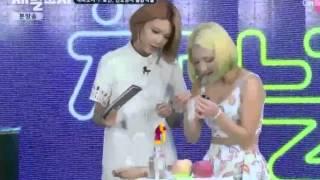 channel snsd ep3  hyoyeon funny cut