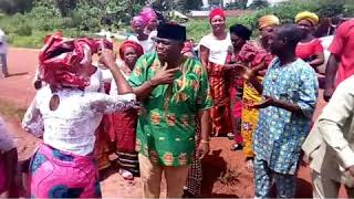 A woman humbled Barr. Chima Anozie at his Rally. See more detail on Krietive TV.