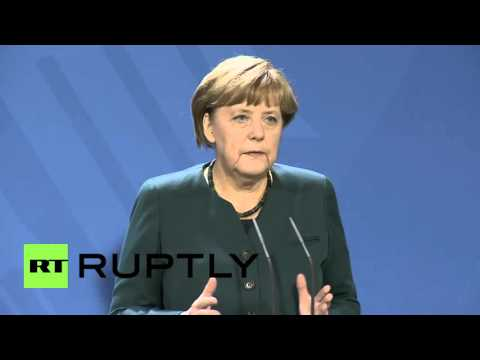 Germany: Merkel rejects Netanyahu's Holocaust claims during joint presser