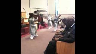 "Macedonia Missionary Baptist Church ""Mime Girls""  Vanessa Bell Armstrong ""Good News"""