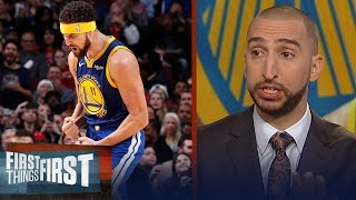 Nick Wright on Klay Thompson setting NBA record, Talks Cavs firing Ty Lue | NBA | FIRST THINGS FIRST