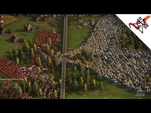 Cossacks 3 - 3P FFA 1000 SICH COSSACKS INVASION   Multiplayer Gameplay