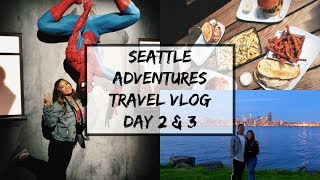 Adventures in Seattle | Funko, Museum of Pop Culture, & more | TRAVEL VLOG