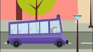 Wheel On The Bus   Nursery Rhymes   Kids Song   Children Rhymes