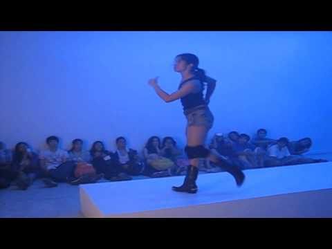 Philippine Macho Academy opening night performance by Eisa Jocson