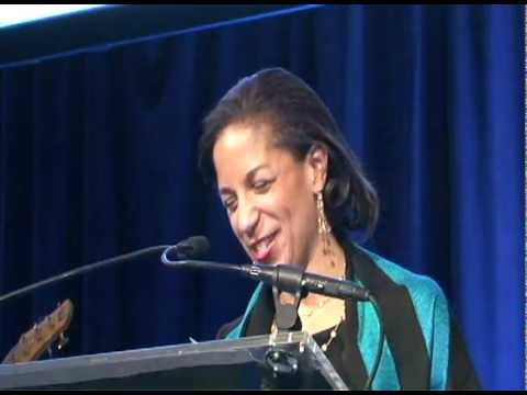 US Ambassador Susan Rice speech at United Nations Awards Gala 2012