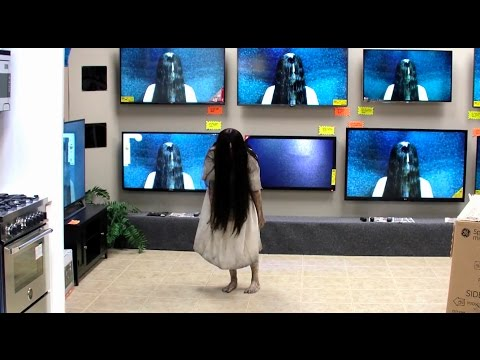 RINGS | 2017 | TV Store Prank | The Ring, Ringu, Samara