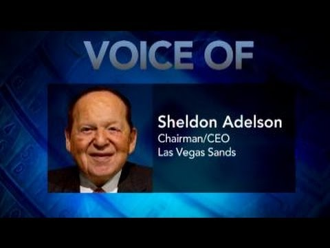 Sheldon Adelson: Online Gambling a Trainwreck, a Cancer