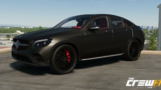 The Crew 2 Mercedes-Benz GLC 250 4MATIC Coupé All Black PimpMyRide