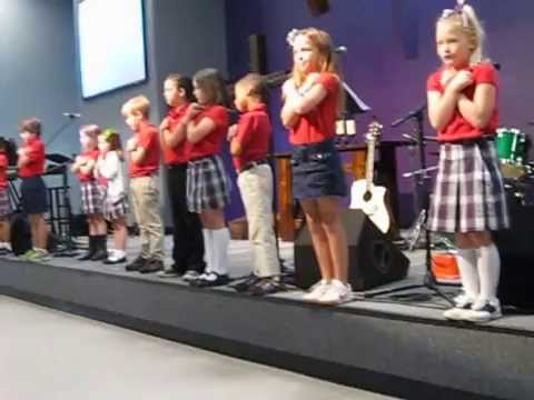 Belvoir Christian Academy Chapel - K & 2nd graders - 5-14-14