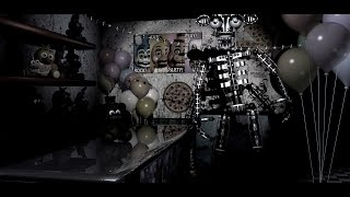 FNAF 2 Gizem (secret endoskeleton)