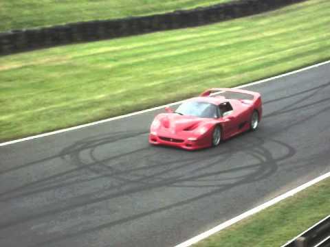 Carfest North 2014- Ferrari F50 Loud Drive-by video