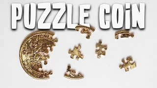 Solving The TINIEST Jigsaw Coin Puzzle!! (I Need Your Help!)